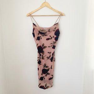 Charlotte Russe dainty dress with velvet roses